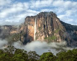 Angelove vodopády, Venezuela