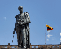 Socha Simona Bolívara